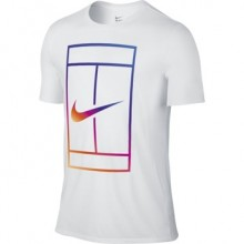 Футболка NIKE IRRIDESCENT COURT TEE White