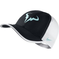 Кепка NIKE RAFA FEATHERLIGHT CAP Black/Wh/Light Blue