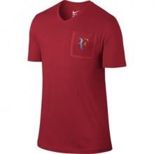 Футболка NIKE RF STEALTH T-SHIRT Red