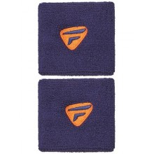 Напульсник Tecnifibre 2-Pack Wristbands Navy