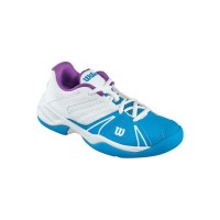 Кроссовки WILSON Open Junior  White Blue