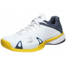 Кроссовки WILSON Rush Pro HC White Grey Yellow