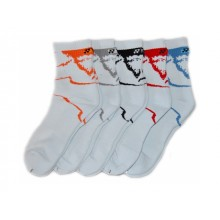 Носки YONEX Unisex  White Grey Black Orange Blue
